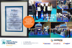 Centena Group Award at Seatrade 2015